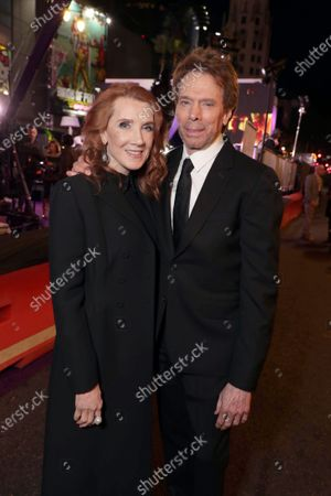 Linda Bruckheimer and Jerry Bruckheimer, Producer, attend the Los Angeles Premiere of Columbia Pictures BAD BOYS FOR LIFE.