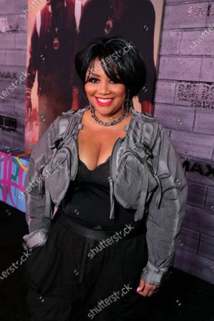 Lalah Hathaway attends the Los Angeles Premiere of Columbia Pictures BAD BOYS FOR LIFE.