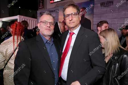 Chad Oman, Executive Producer, and Tom Rothman, Chairman, Sony Pictures Entertainment Motion Picture Group, attend the Los Angeles Premiere of Columbia Pictures BAD BOYS FOR LIFE.