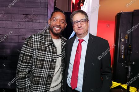 Will Smith, Actor/Producer, and Tom Rothman, Chairman, Sony Pictures Entertainment Motion Picture Group, attend the Los Angeles Premiere of Columbia Pictures BAD BOYS FOR LIFE.