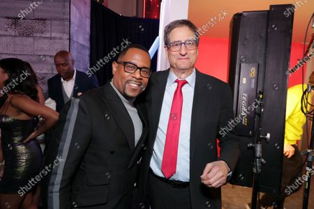 Martin Lawrence and Tom Rothman, Chairman, Sony Pictures Entertainment Motion Picture Group, attend the Los Angeles Premiere of Columbia Pictures BAD BOYS FOR LIFE.