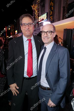 Tom Rothman, Chairman, Sony Pictures Entertainment Motion Picture Group, and Doug Belgrad, Producer, attend the Los Angeles Premiere of Columbia Pictures BAD BOYS FOR LIFE.