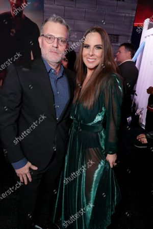 Chad Oman, Executive Producer, and Kate Del Castillo attend the Los Angeles Premiere of Columbia Pictures BAD BOYS FOR LIFE.