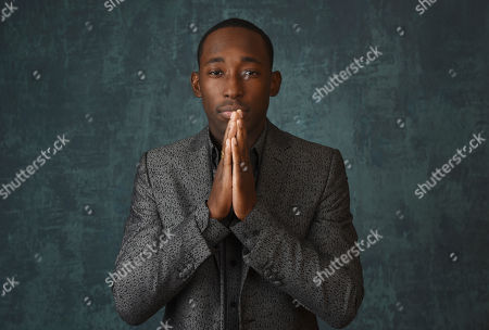 """Stock Image of Jeremy Tardy, a cast member in the Paramount Network series """"68 Whiskey,"""" poses for a portrait during the 2020 Winter Television Critics Association Press Tour, in Pasadena, Calif"""