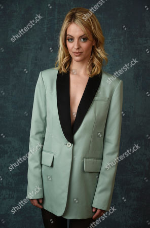 "Stock Image of Gage Golightly, a cast member in the Paramount Network series ""68 Whiskey,"" poses for a portrait during the 2020 Winter Television Critics Association Press Tour, in Pasadena, Calif"