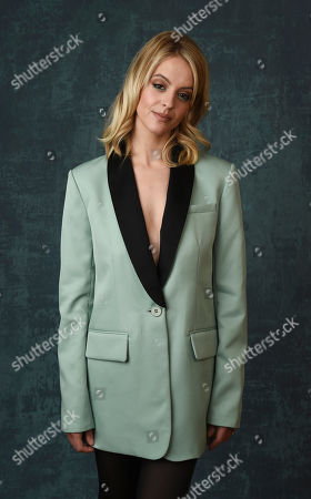 "Gage Golightly, a cast member in the Paramount Network series ""68 Whiskey,"" poses for a portrait during the 2020 Winter Television Critics Association Press Tour, in Pasadena, Calif"