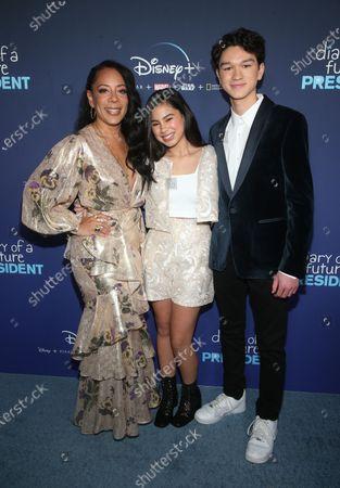 Selenis Leyva, Tess Romero and Charlie Bushnell