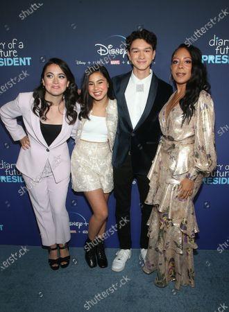 Stock Photo of Ilana Pena, Tess Romero, Charlie Bushnell and Selenis Leyva
