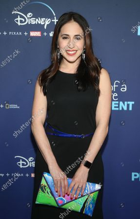 Editorial photo of 'Diary Of A Future President' TV show premiere, ArcLight Cinemas - Hollywood, Los Angeles, USA - 14 Jan 2020