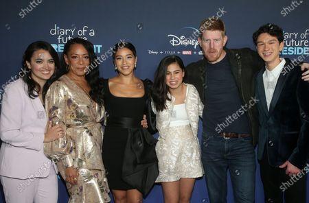 Stock Picture of Ilana Pena, Selenis Leyva, Gina Rodriguez, Tess Romero, Michael Weaver and Charlie Bushnell