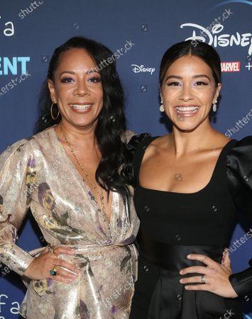 Selenis Leyva and Gina Rodriguez