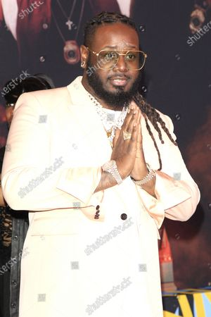 T-Pain arrives for the World Premiere of Bad Boys For Life at the TCL Chinese Theatre IMAX in Hollywood, Los Angeles, California, USA, 14 January, 2020. The movie opens in the US 17 January, 2020.
