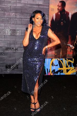 Vivica A Fox arrives for the World Premiere of Bad Boys For Life at the TCL Chinese Theatre IMAX in Hollywood, Los Angeles, California, USA, 14 January, 2020. The movie opens in the US 17 January, 2020.