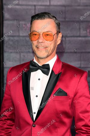 Massi Furlan arrives for the premiere of Bad Boys for Life at the TCL Chinese Theatre in Hollywood, Los Angeles, California, USA, 14 January, 2020. The movie opens in US cinemas on the 17 January 2020.