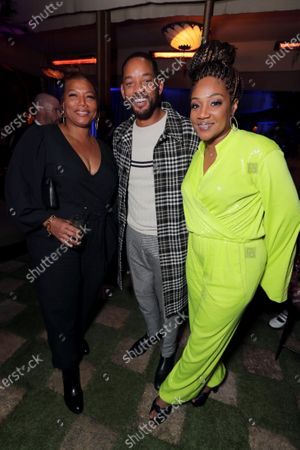 Queen Latifah, Will Smith, Actor/Producer, and Tiffany Haddish
