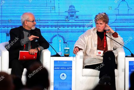 Seyed Kazem Sajjadpour, Jane Hill Lute. Iranian Deputy Foreign Minister Seyed Kazem Sajjadpour, left, speaks at a global conference as SICPA United States President and CEO, Jane Hill Lute listens in New Delhi, India