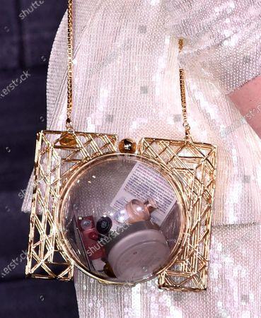 Iskra Lawrence, bag detail