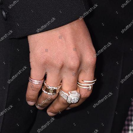 Jaden Smith, jewellery detail