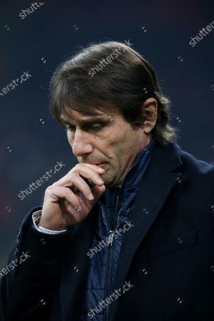 Editorial photo of Inter Milan v Cagliari, Coppa Italia, Football, Stadio San Siro, Milan, Italy - 14 Jan 2020