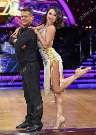 Katya Jones and Mike Bushell