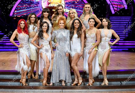 Dianne Buswell, Amy Dowden, Emma Barton, Catherine Tyldesley, Saffron Barker, Luba Mushtuk, Janette Manrara, Stacey Dooley, Alex Scott, Karen Clifton and Katya Jones