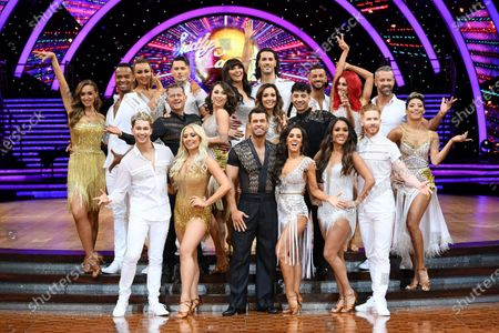 Catherine Tyldesley and Johannes Radebe, Luba Mushtuk, Jake Leigh, Mike Bushell and Katya Jones, AJ Pritchard and Saffron Barker, Emma Barton and Graziano Di Prima, Robbie Kmetoni, Kelvin Fletcher and Janette Manrara, Amy Dowden and Karim Zeroual, Dianne Buswell, Joshua Keefe, Alex Scott and Neil Jones and Karen Clifton