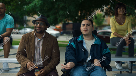 Ravi Patel as Mo and Grant Rosenmeyer as Scotty