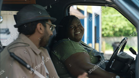 Ravi Patel as Mo and Gabourey Sidibe as Sam