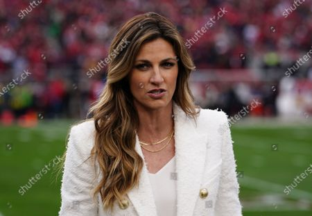 Fox Sports Erin Andrews  who also hosts Dancing with the Stars