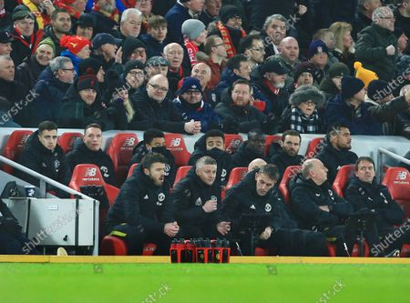 Editorial image of Liverpool v Manchester United, Premier League, Football, Anfield, Liverpool, UK - 19 Jan 2020
