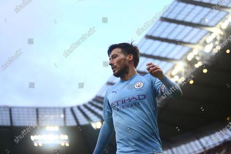 David Silva of Manchester City