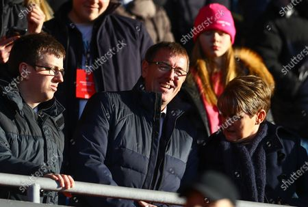 Stock Image of Southampton legend Matt Le Tissier in the stands