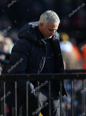 Editorial image of Watford v Tottenham Hotspur, Premier League, Football, Vicarage Road, Watford, UK - 18 Jan 2020