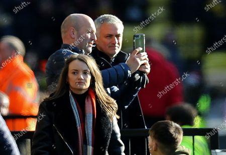Editorial picture of Watford v Tottenham Hotspur, Premier League, Football, Vicarage Road, Watford, UK - 18 Jan 2020