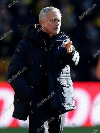Jose Mourinho head coach of Tottenham Hotspur