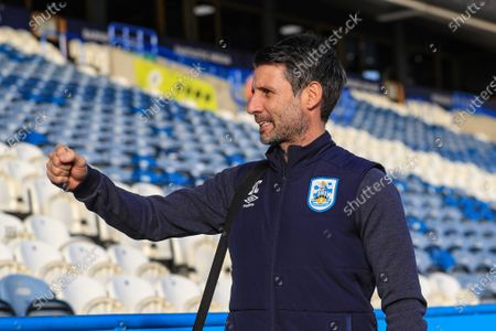 18th January 2020, John Smith's Stadium, Huddersfield, England; Sky Bet Championship, Huddersfield Town v Brentford : Danny Cowley manager of Huddersfield Town arrives at The John Smith Stadium Credit: Mark Cosgrove/News Images