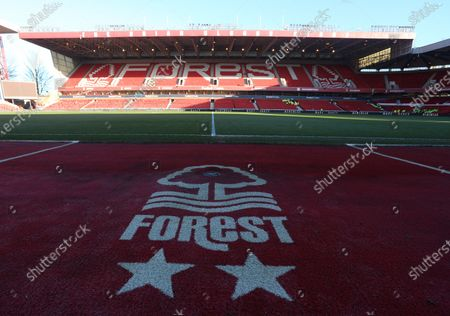 A view of the Brian Clough stand