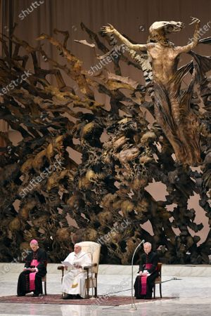 Editorial picture of Pope Francis weekly general audience, Vatican City, Italy - 15 Jan 2020
