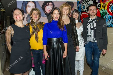 Stock Image of Isabelle Gibbal Hardy, Laurence Meunier, Nathalie Marchak, Anne Richard, Alix Benezech and Quentin Delcourt