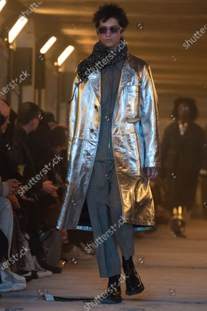 Etudes Show Runway Paris Fashion Week Mens Stock Photos Exclusive Shutterstock