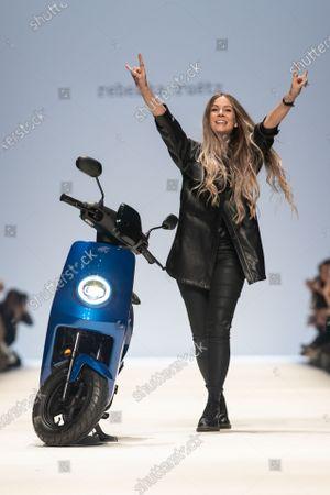Editorial photo of Rebekka Ruetz - Runway - Mercedes-Benz Fashion Week Berlin FW 2020, Germany - 15 Jan 2020