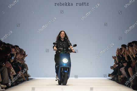 Editorial picture of Rebekka Ruetz - Runway - Mercedes-Benz Fashion Week Berlin FW 2020, Germany - 15 Jan 2020