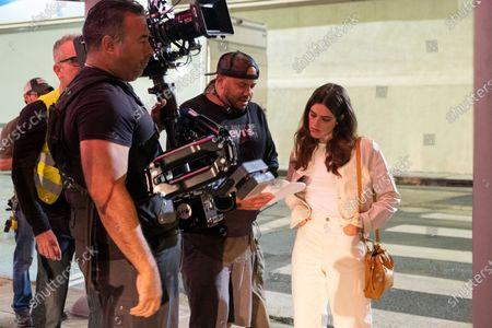 Darren Grant Director and Callie Hernandez as Nellie O'Brien