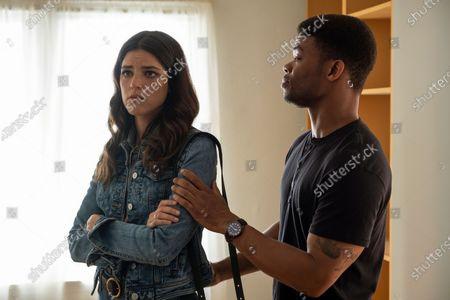 Callie Hernandez as Nellie O'Brien and Paul James as Samson Hughes