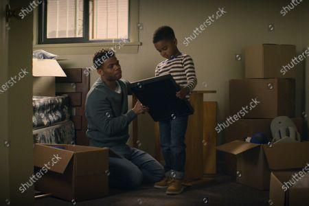 Paul James as Samson Hughes and Isaiah Edmonds Givens as Barry Hughes