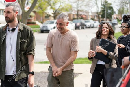 Stock Image of Ti West Director, Joshua Safran Director and Jenna Dewan