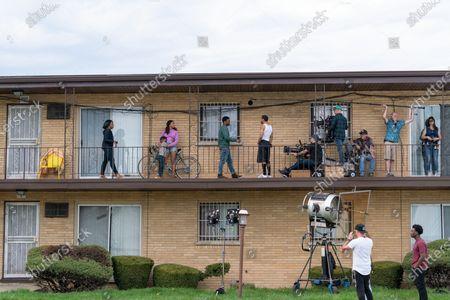Marianne Jean-Baptiste as Annette Sands, Isaiah Edmonds Givens as Barry Hughes, Paul James as Samson Hughes and Jahmil French as Dante Mendoza