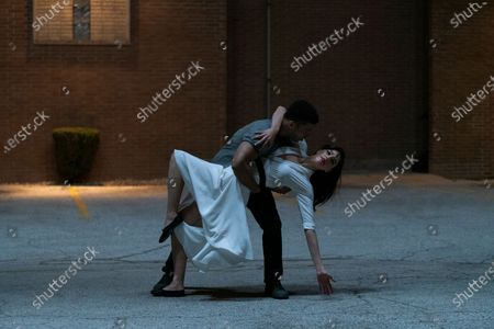 Paul James as Samson Hughes and Callie Hernandez as Nellie O'Brien