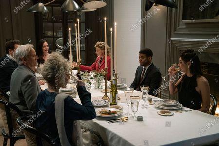 Amy Irving, Campbell Scott as Frank O'Brien, Madeleine Stowe as Margot Weston, Megan Ferguson as Gigi Dumont, Paul James as Samson Hughes and Callie Hernandez as Nellie O'Brien