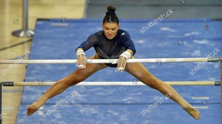 Editorial image of Boise State UCLA Gymnastics, Los Angeles, USA - 12 Jan 2020